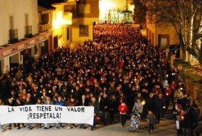 La Puebla de Almoradiel pide justicia por Juan Carlos Leo
