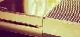 Insólito: Xbox One bañado en Oro de 24