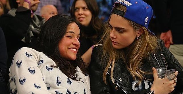 Cara Delevingne y Michelle Rodríguez están noviando - Fotos