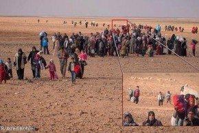 El pequeño Marwan no cruzó solo el desierto - Foto