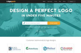 Reseña del creador de logos Logogenio: crea un logotipo de aspecto profesional
