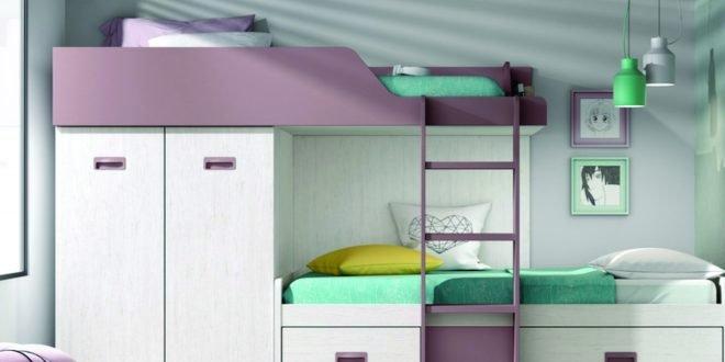 ¿Qué beneficios aportan las camas tren a la habitación de tus hijos?