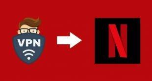 Utilice una VPN para Netflix