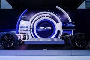 BYD lanza su Plataforma-e 3.0 y presenta el nuevo concept car Ocean-X